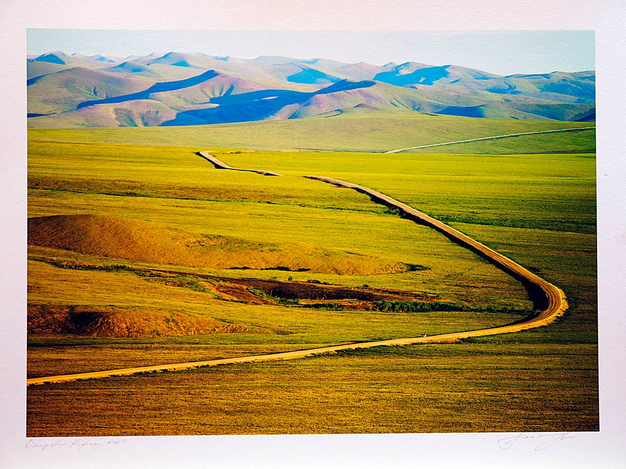 print-Canada-Northwest-Territores-dempster-highway-nwt