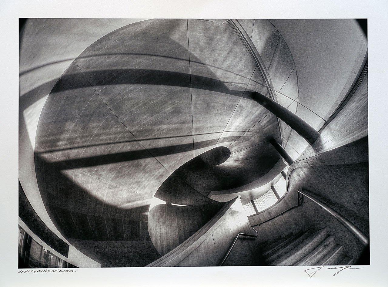 print-Canada-Ontario-Toronto-art-gallery-of-ontario-stairway