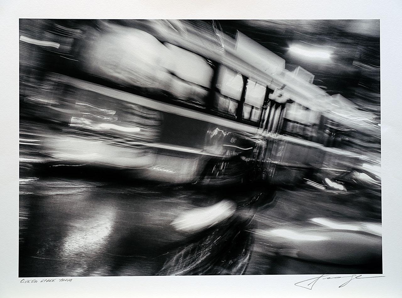 print-Canada-Ontario-Toronto-queen-street-tram
