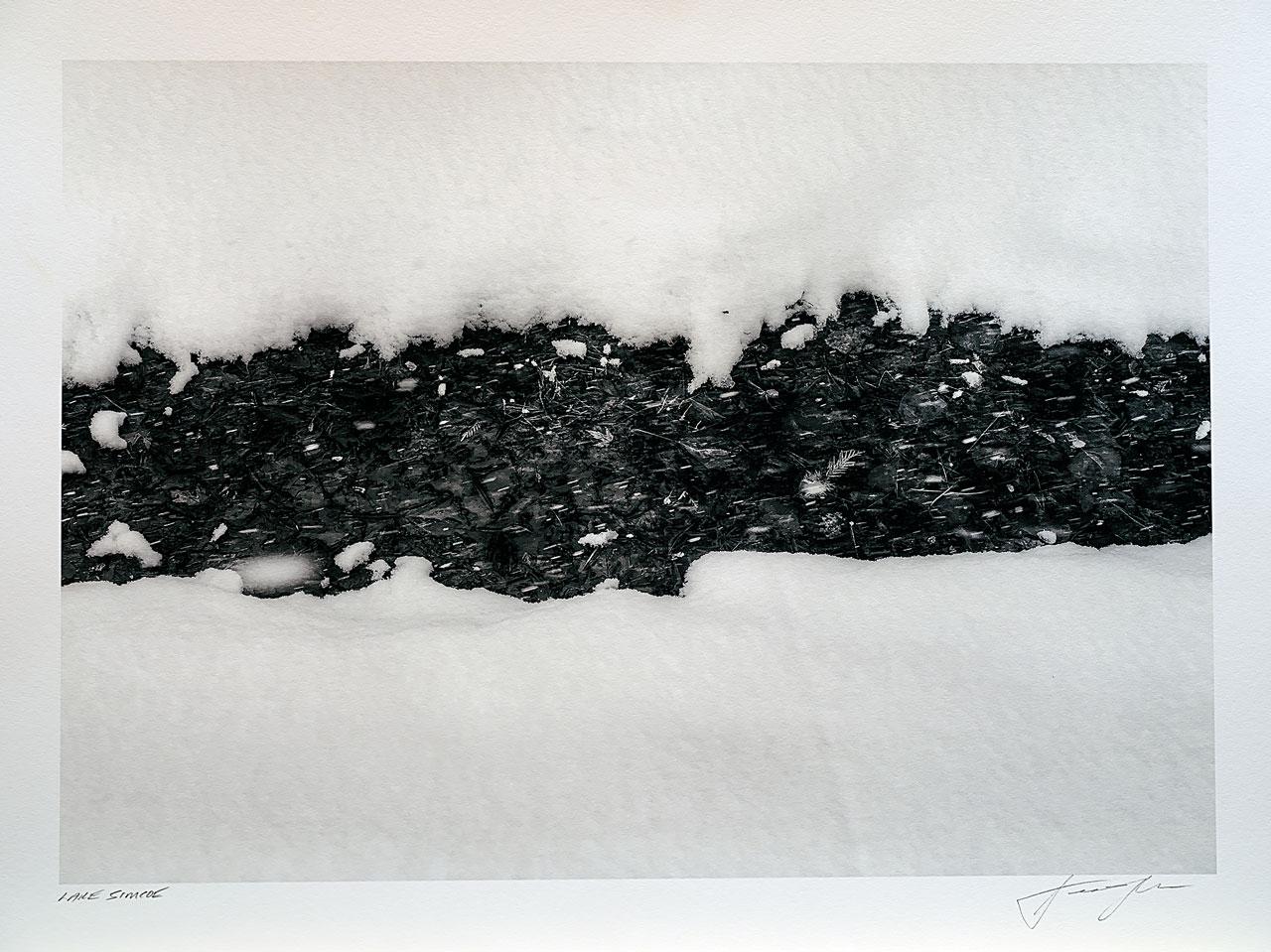 print-Canada-Ontario-lake-simcoe-winter