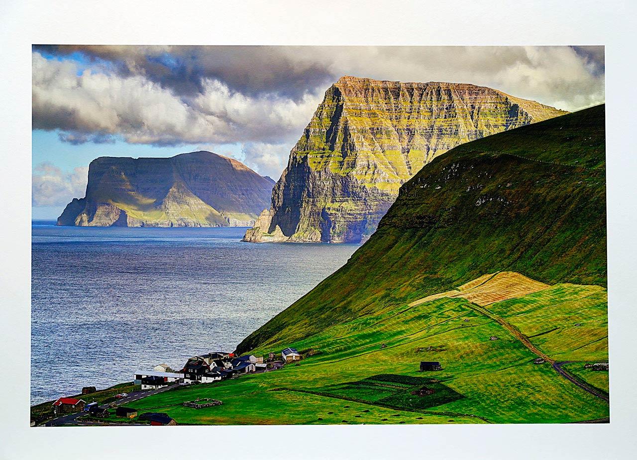 print-Faroe-Islands-village