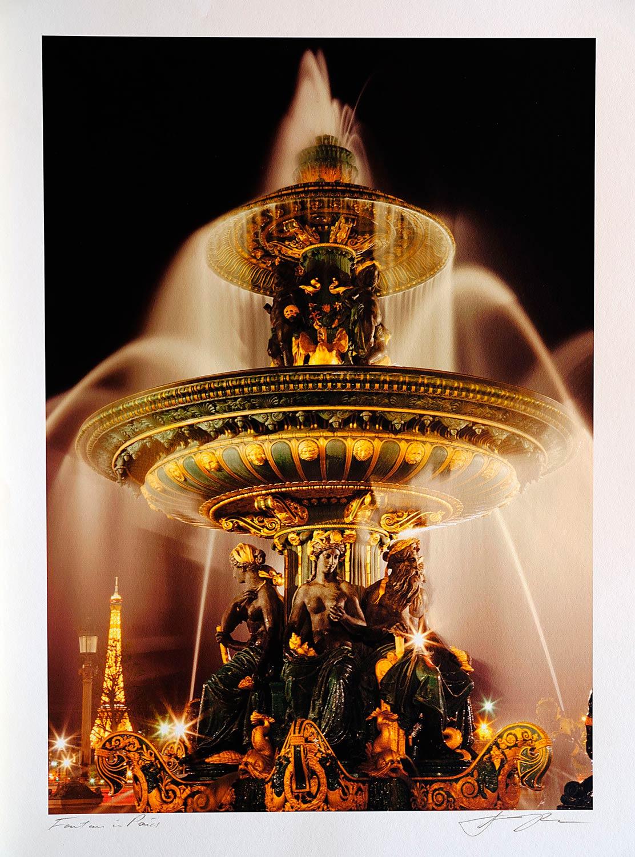 print-France-Paris-fountain