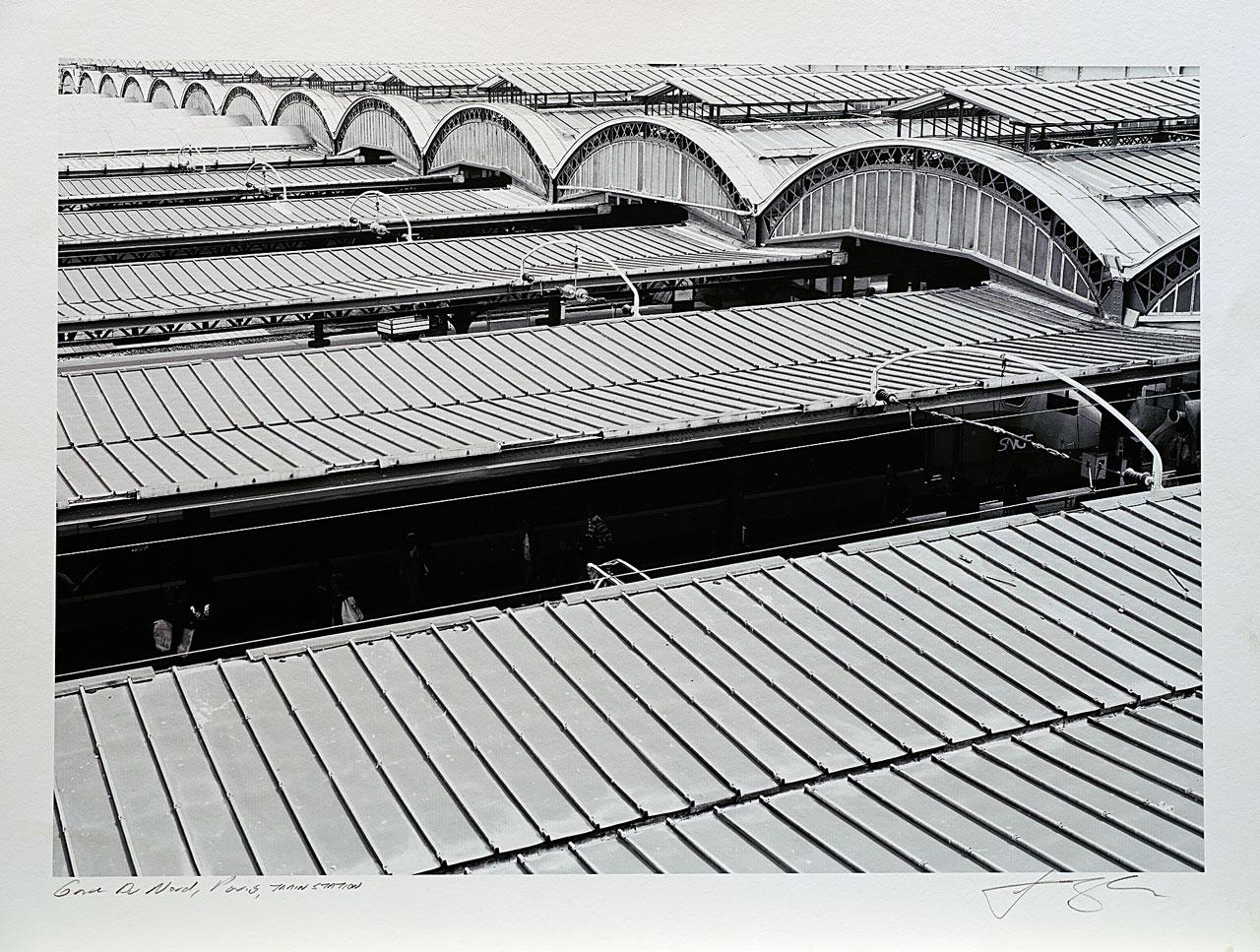 print-France-Paris-gare-du-nord-paris-train-station