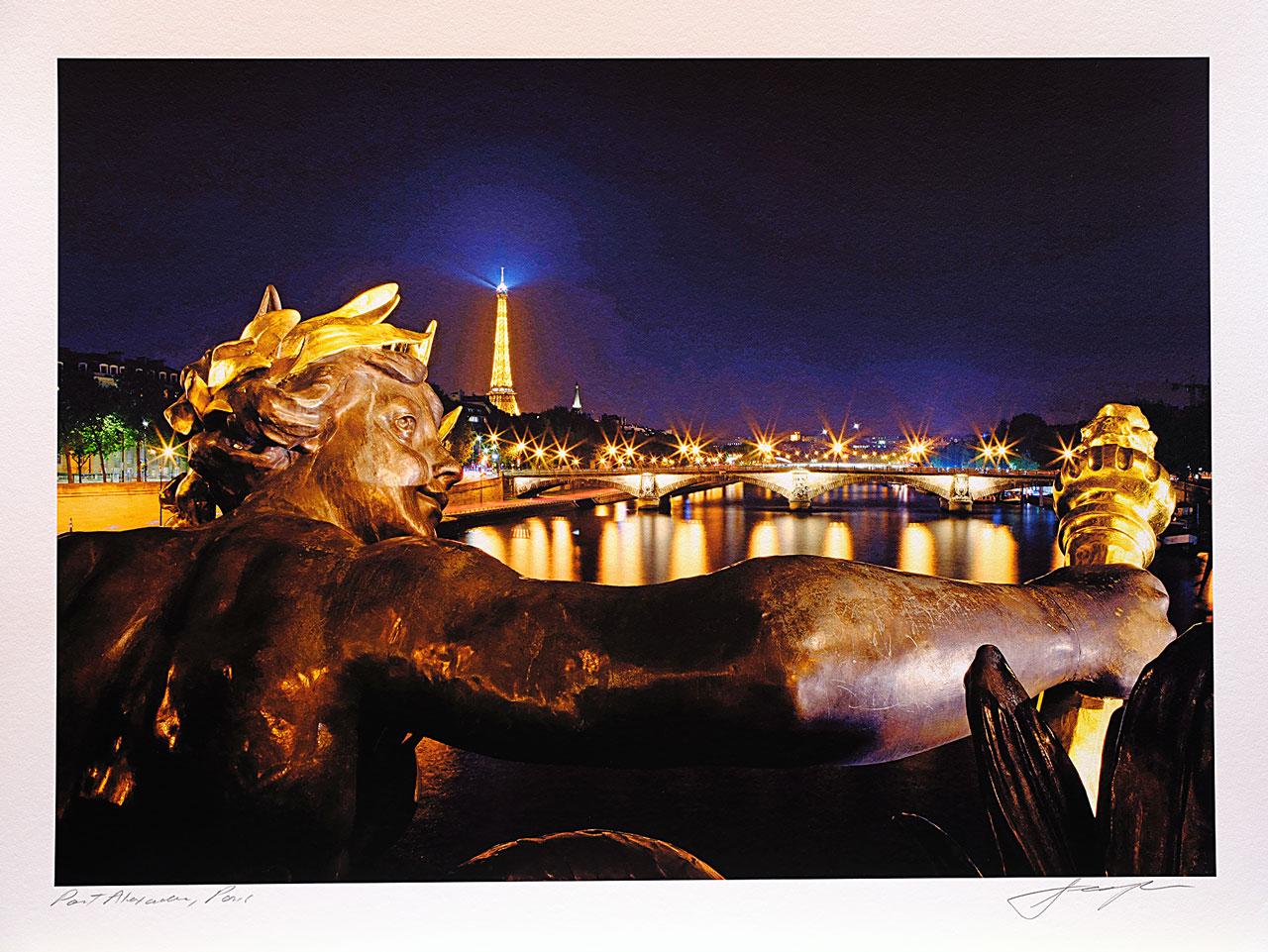 print-France-Paris-pont-alexandre-paris